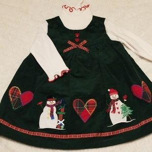 Brand new 12m Christmas dress